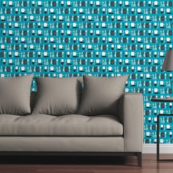 Circle Art Group Removable Wallpaper Tile Kitchen Gadgets Multi Color 24