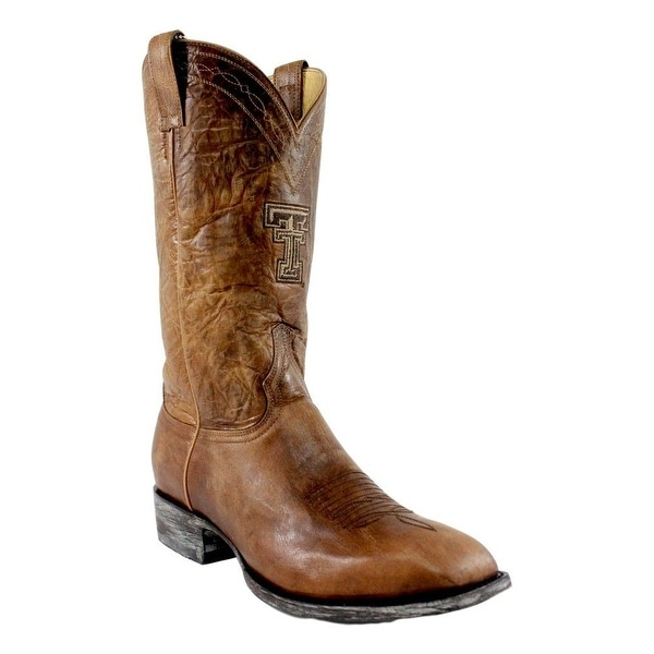 Gameday Boots Men Texas Tech Square TT Stitching