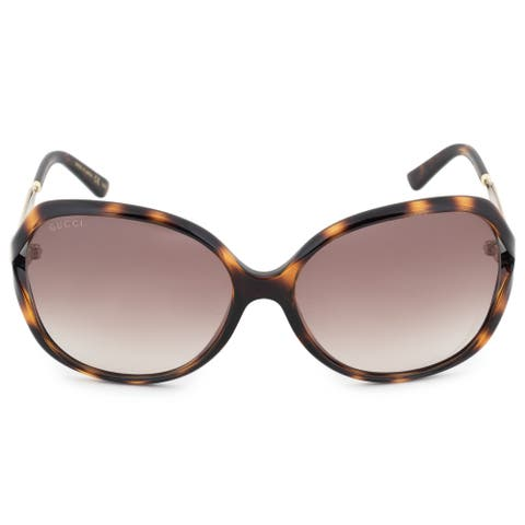 Gucci Butterfly Sunglasses GG0076S 003 60 - 60mm x 16mm x 130mm