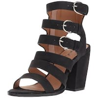 Qupid Womens Lost-13X Open Toe Casual Strappy Sandals