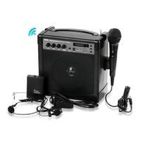 1Y6506 Portable Karaoke PA Speaker Amplifier & Microphone