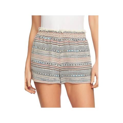 1.State Womens Shorts Tweed Paperbag