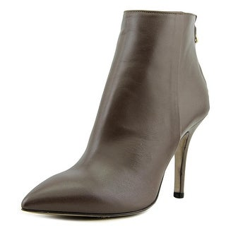 8 Y014-03 Bootie   Pointed Toe Leather  Ankle Boot
