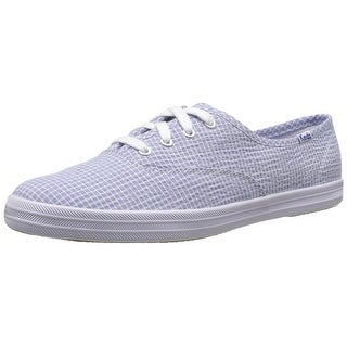 Keds Womens Champion Shirting Low Top Lace Up Fashion Sneakers