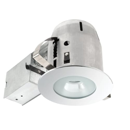 Globe Electric 9202701 4 inch Recessed Lighting Kit, Bathroom, Spot Light