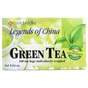 Legends Of China Green Tea 100-count