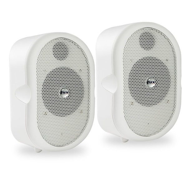 LyxPro MSW-3 Pair of Mini Bluetooth 40-Watt Active Speaker