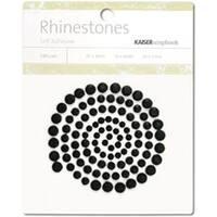 Black - Self-Adhesive Rhinestones 100/Pkg