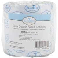 """Elizabeth Craft Clear Double-Sided Adhesive Tape-4""""X27yd"""