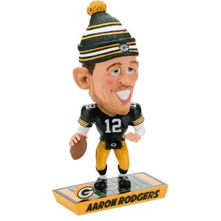 Green Bay Packers Aaron Rodgers Caricature Bobblehead - multi