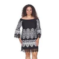 Plus Size Alta Dress - White