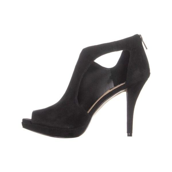 2e3db046c Shop DKNY Womens Biza Leather Peep Toe D-orsay Pumps - Free Shipping ...