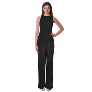 Lauren Ralph Lauren Jersey Wide Leg Scoop Neck Jumpsuit (5 options available)
