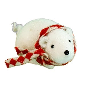 """Link to 3.50""""White and Red Checkered Scarf Small Mouse Similar Items in Stuffed Toys"""