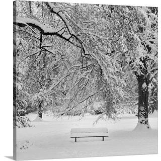 """Winter Landscape."" Canvas Wall Art"