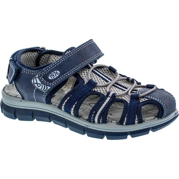 Primigi Boys 7653 Adventure Sport European Sandals With Protected Closed Toe - Blue
