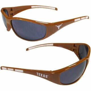 Texas Longhorns Wrap Sunglasses - Orange