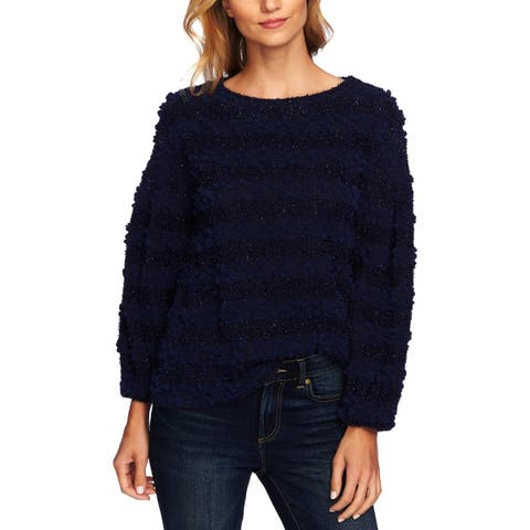 CeCe Womens Pullover Top Knit Striped