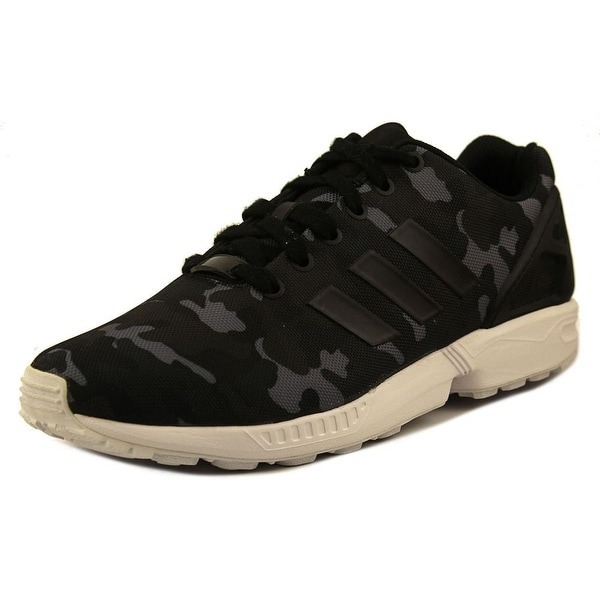Adidas ZX Flux Weave Men Round Toe Synthetic Black Sneakers