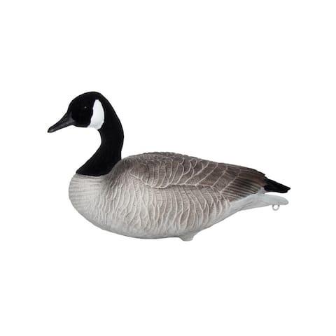 Mayhem Decoys Canada Goose Painted Head 12 Pack Black White - Black White