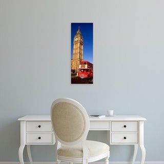 Easy Art Prints Panoramic Images's 'Big Ben, London, United Kingdom' Premium Canvas Art