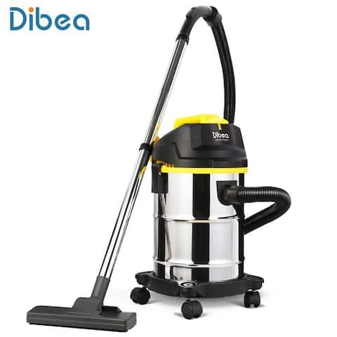 Dibea DU100 Barrel Type Wet / Dry Vacuum Cleaner Cleaning Machine