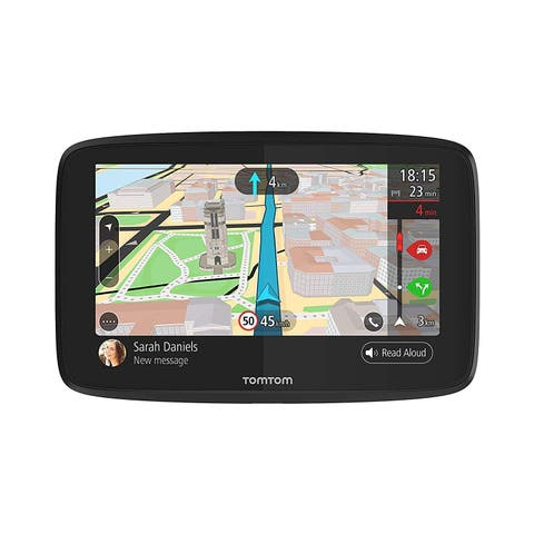TomTom GO 520 5-inch Lifetime Map & Traffic Updates Automotive GPS w/ Wi-Fi