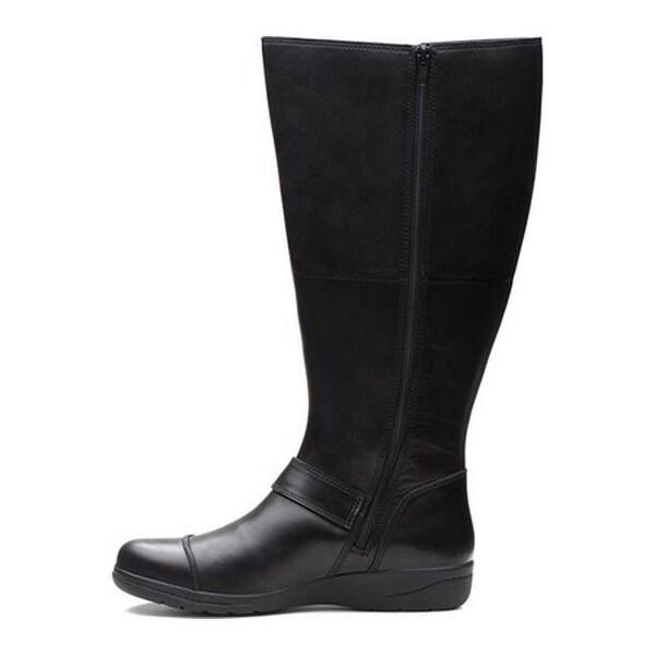 Cheyn Meryl Wide Shaft Knee High Boot