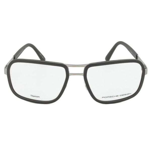 8b2feef73d ... Black Frame Source · Shop Porsche Design P8219 B Rectangular Titanium  Eyeglasses Frame
