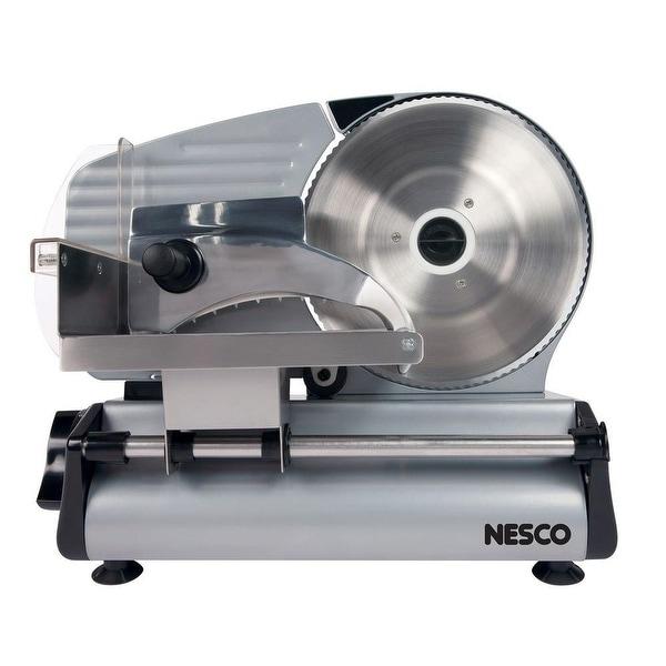 Nesco FS-250 Stainless Steel Food Slicer, 180-watt