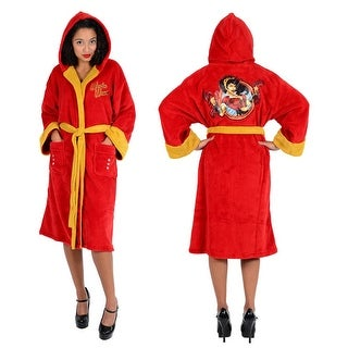 DC Bombshells Wonder Woman Ladies Fleece Robe