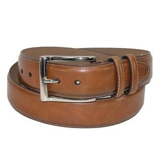 Danbury Men's Leather Cognac Double Loop Belt