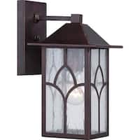"Nuvo Lighting 60/5641 Stanton 6.25"" Width 1 Light Outdoor Lantern Wall Sconce"