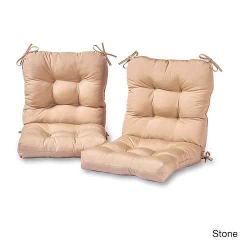 Driftwood Outdoor Seat/Back Chair Cushions (Set of 2) by Havenside Home