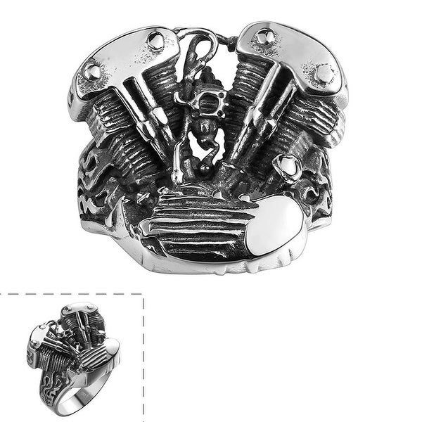 The Indian Chief Stainless Steel Ring