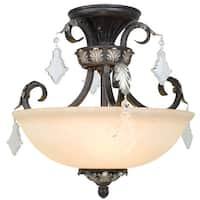 Dolan Designs 2105-148 Semi-Flush Ceiling Fixture from the Florence Collection - phoenix - n/a