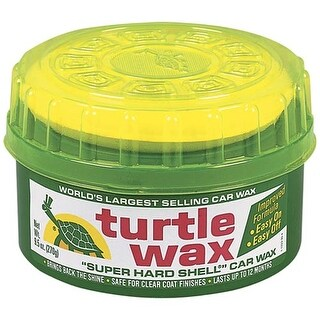Turtle Wax T222R Super Hard Shell Paste Wax, 14 Oz