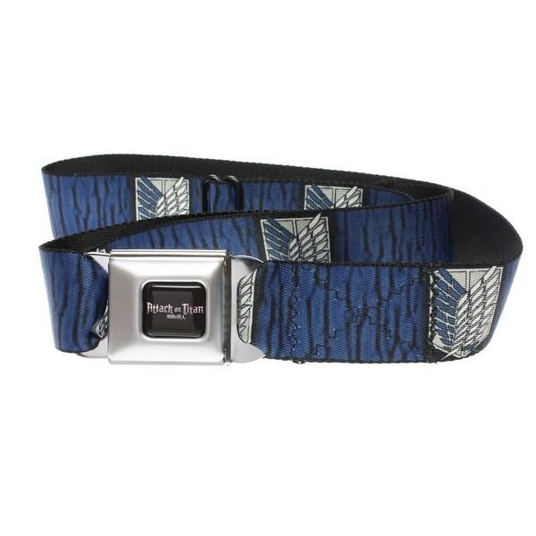 Attack on Titan Scouting Legion Symbol Seatbelt Belt-Holds Pants Up