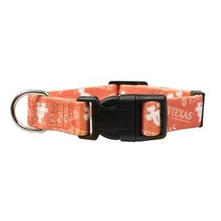 Texas Longhorns Pet Collar Size L