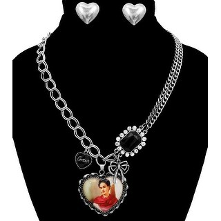 Pendant Necklace Set for Valentine's Day