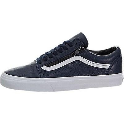 Vans Old Skool Zip Skate Shoes, Navy Blue, 10 US Mens
