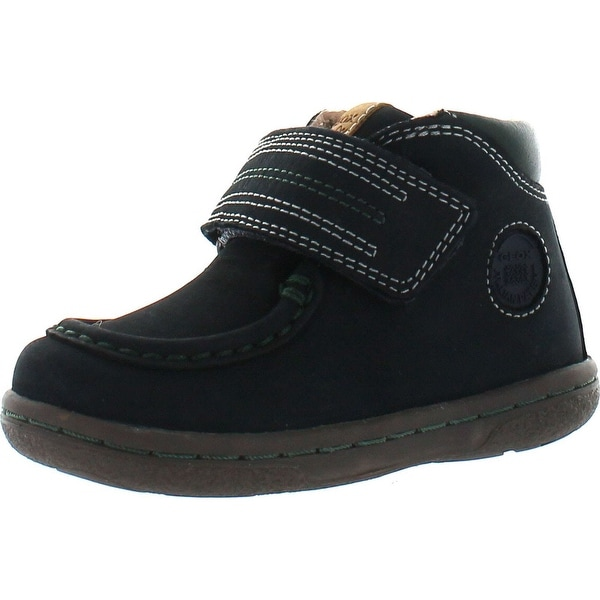 Geox Little Boys Flick Infant Chukka Walker Bootie - Navy