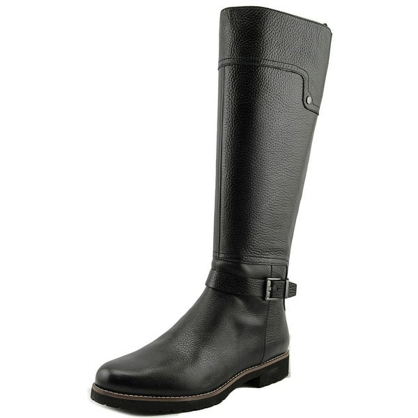 Franco Sarto Chandler   Round Toe Leather  Knee High Boot