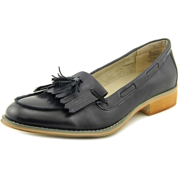 30df3e69316 Shop Wanted Charlie Women Round Toe Synthetic Loafer - Free Shipping ...