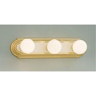 "Designers Fountain 4153 Three Light Ambient Lighting 18"" Wide Bathroom Fixture"
