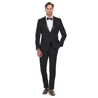 Quick View.  79.99. Porto Filo Men s 2 Pcs Navy Blue Tuxedo Slim-Fit Suit  (Jacket+ Pant) - Navy Blue 74f7e8be830f