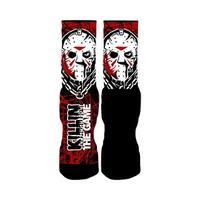 Rufnek Jason Voorhees Killin' the Game 2.0 Men's Socks
