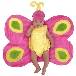 Beautiful Butterfly Caterpillar Swaddle Wings
