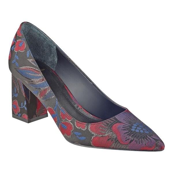 Marc Fisher Womens Zala2 Fabric Pointed Toe Classic Pumps