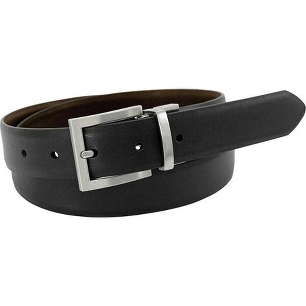 146cecf836a9 Shop Florsheim Men s Reversible Leather Belt Black Brown Action Leather -  On Sale - Free Shipping On Orders Over  45 - Overstock - 25698382